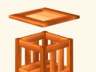 craftsman end table plans