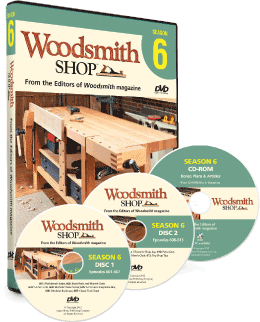 Woodsmith Shop Season 6 DVD