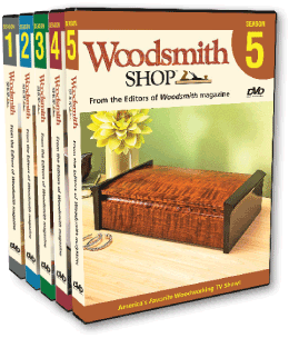 Woodsmith Shop DVD set image