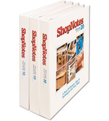 ShopNotes Volume Set