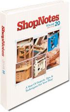 ShopNotes Vol. 20