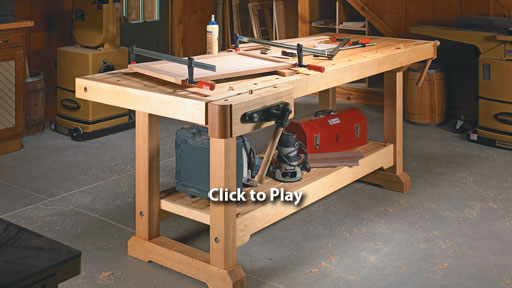 woodsmith workbench
